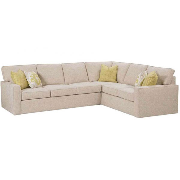 Excellent Micah Sectional Hudson Crane Inzonedesignstudio Interior Chair Design Inzonedesignstudiocom