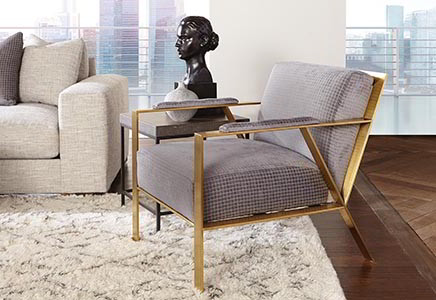 home staging chair